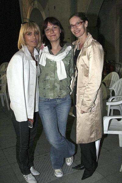 9. 5. 2008: Na koncertu sem bila v družbi Barbre Jermann in Branke Grujičič. Kdor ju pozna - ne moreš verjet, a ne? 12 let je od takrat - isti sta:)